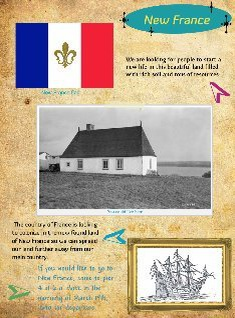 New France advertisment