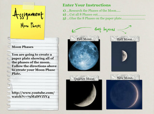 Moon Phases Instructions