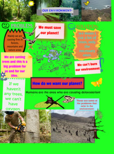 DEFORESTATION, OUR ENVIRONMENT, ANDREAGRINT