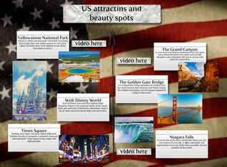 USA attractions and beauty spots