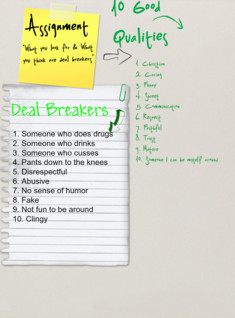 Qualities and Deal Breakers