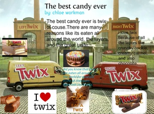 the best candy ever is twix