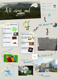 All about Me - Joanna Cho