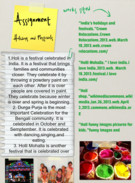 Holidays and festivals of india's thumbnail