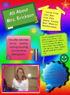 All About Mrs. Erickson