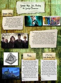 Summer with J. K. Rowling
