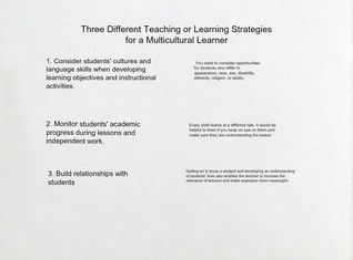 Strategies to Teaching Multicultural Learners