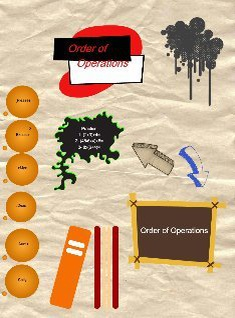 Order of Operations IAG