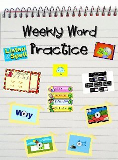 'Weekly Word Practice' thumbnail