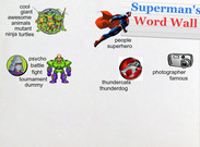Superman's Word Wall 4-14-14's thumbnail