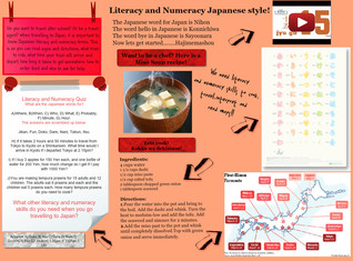 Literacy and Numeracy Japanese Style