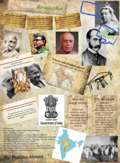 SS Indian Revolution Inforgraphic: Rudaba Ahmed