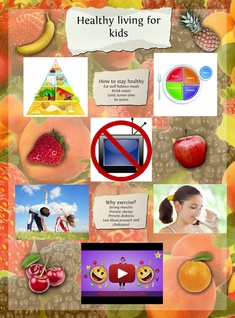 Kids healthy living by Tracy Martinez
