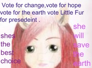 little fur for president's thumbnail