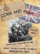 WW1 enlistment poster's thumbnail