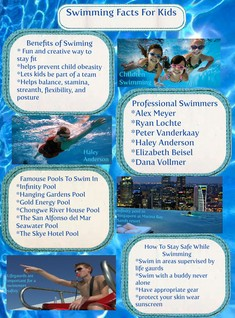Swimming facts for kids