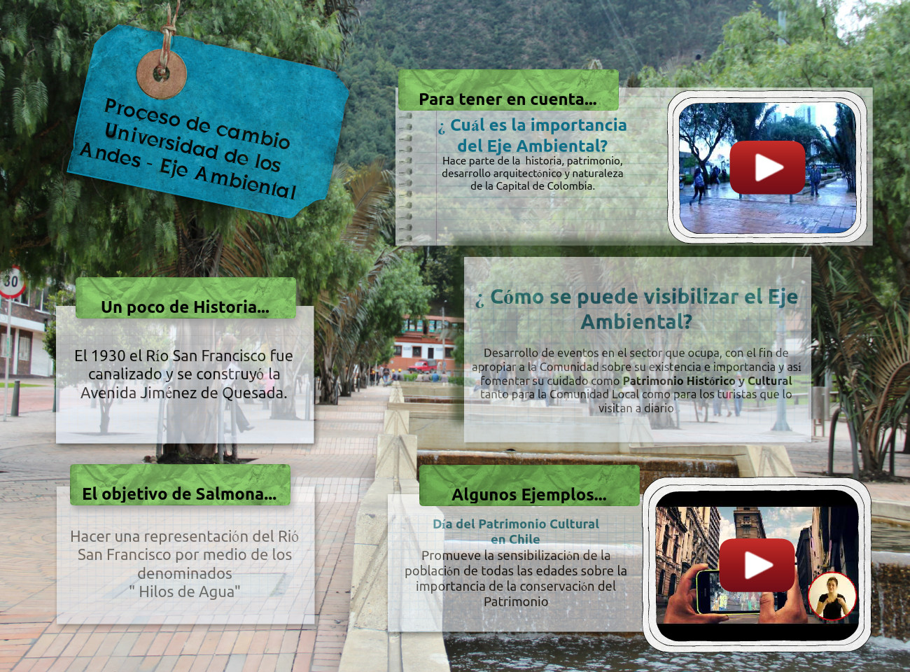 Universidad Andes Eje Ambiental
