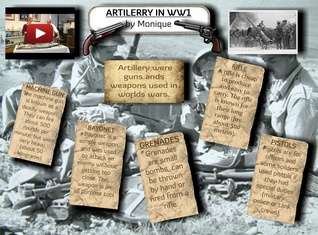 Artilerry in WW1