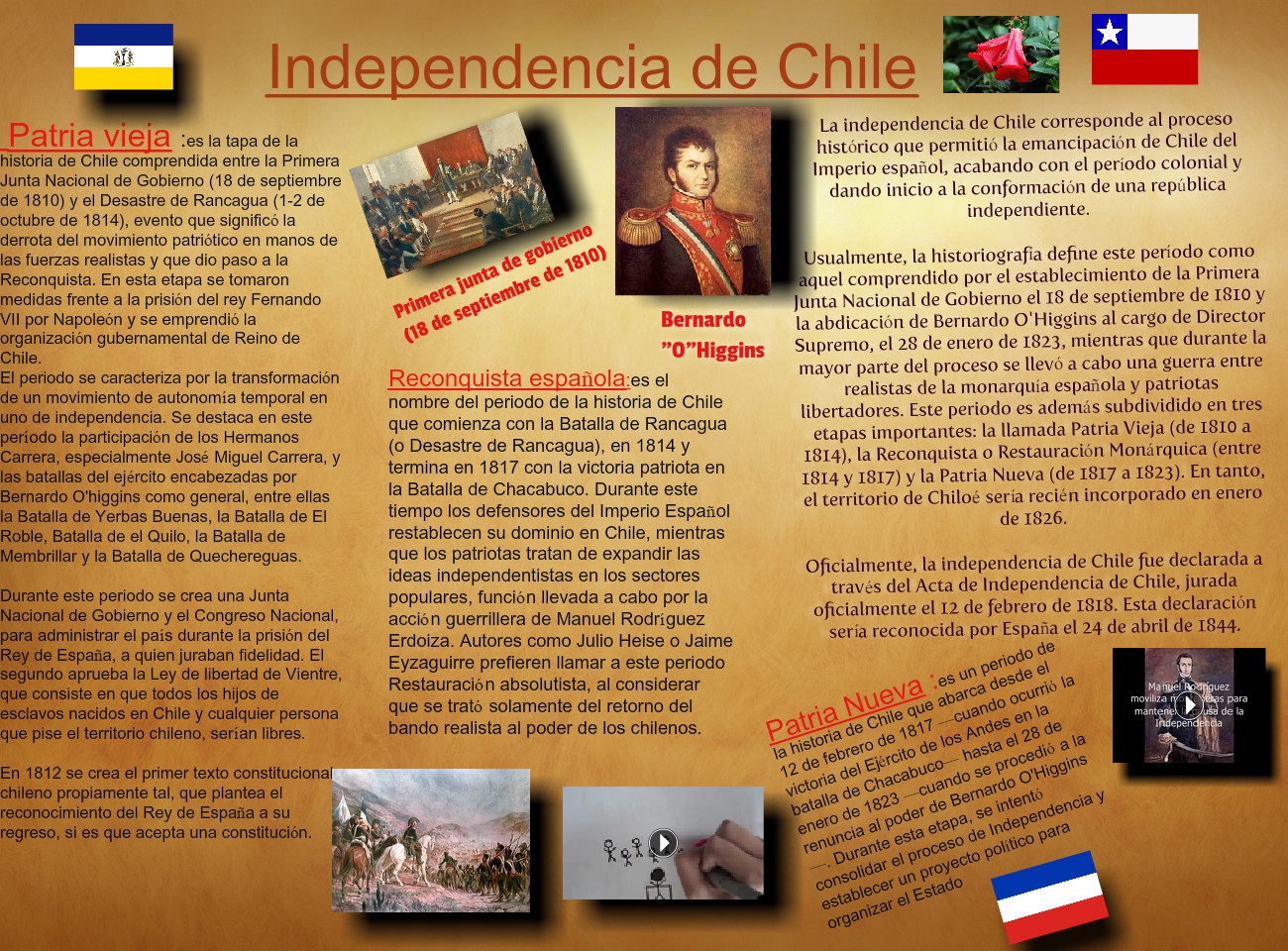 Independencia de Chile.