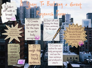 8 Steps to Building a Great Research Paper