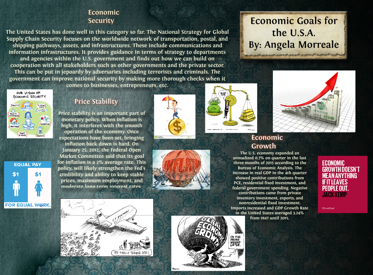 Economic Goals for the USA