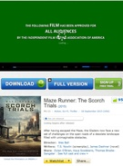 Download Maze Runner: The Scorch Trials movie in DVD, HD and DivX quality's thumbnail