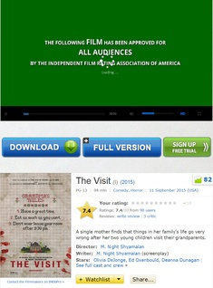 Download The Visit Movie in DVD, HD and DivX quality from