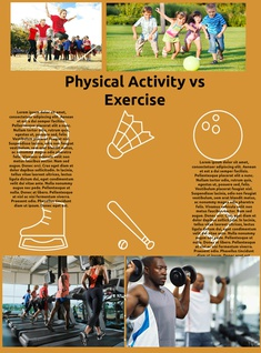 Physical activity vs exercise