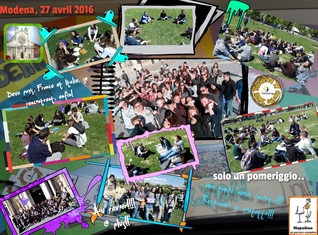 Rencontre à Modena 27 avril 2016