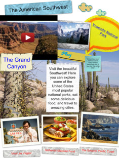 Travel to the American Southwest