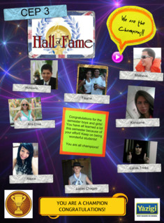Hall of Fame - CEP 3