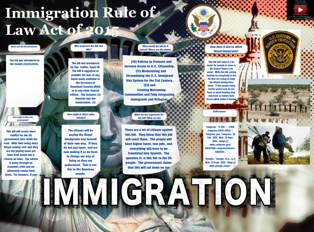 Immigration Rule of Law Act of 2015