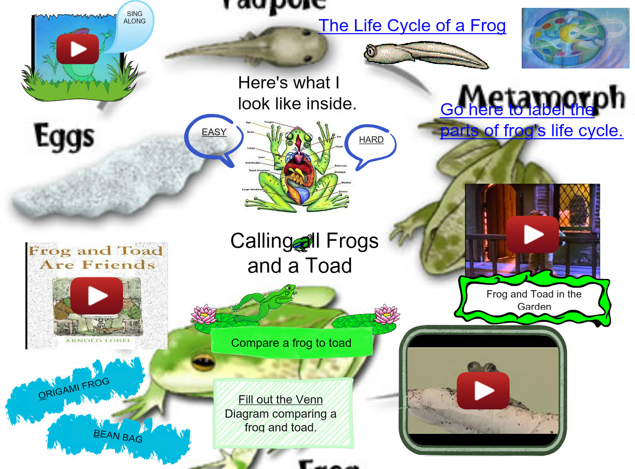 Calling All Frogs