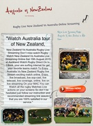 Australia Vs New Zealand Rugby Live Streaming's thumbnail