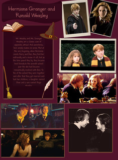 Hermione Granger and Ronald Weasley