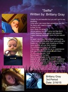 """Selfie"" Written By: Brittany Gray's thumbnail"