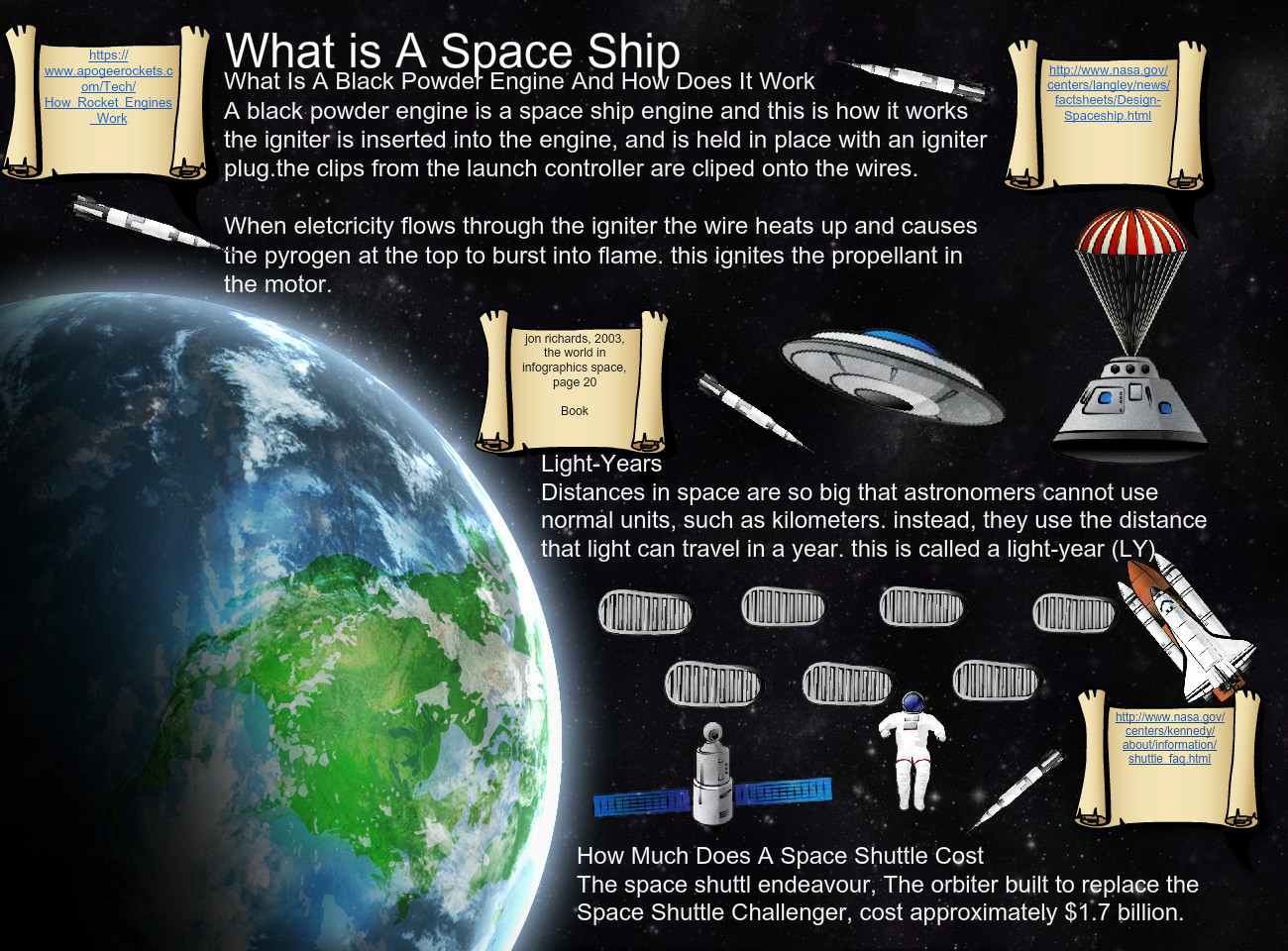 What is a space ship