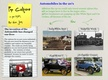 Automobiles in the 20's  thumbnail