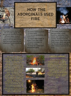 HOW ABORIGINALS USE FIRE