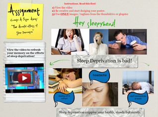 The Harmful Effects of Sleep Deprivation (Student's Work)