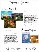 Festivals in Singapore's thumbnail
