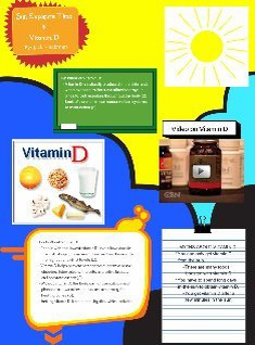 Sun Exposure Time & Vitamin D