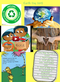 Earth day lesson glog