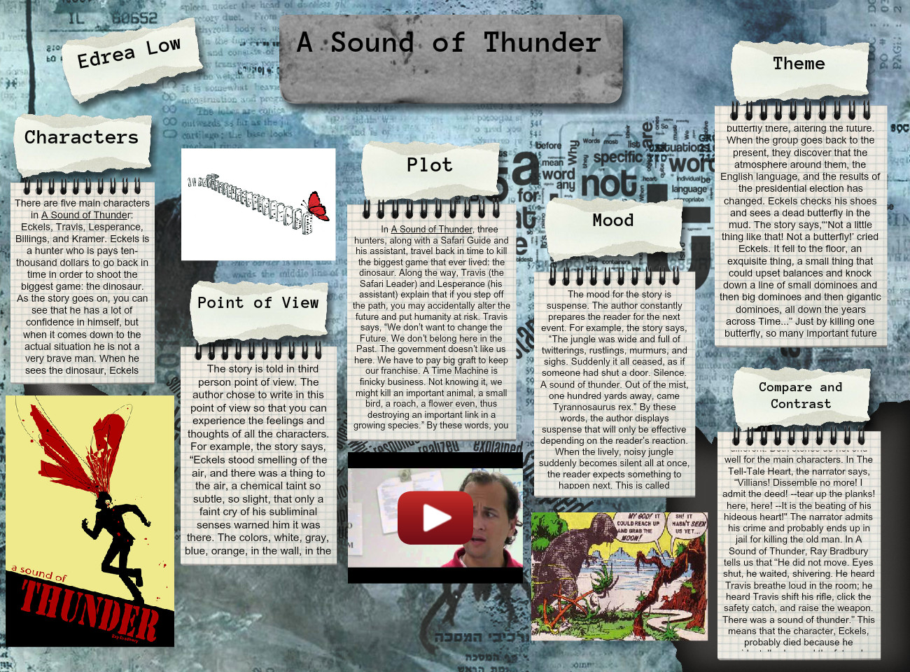 [2015] Edrea Low: A Sound of Thunder