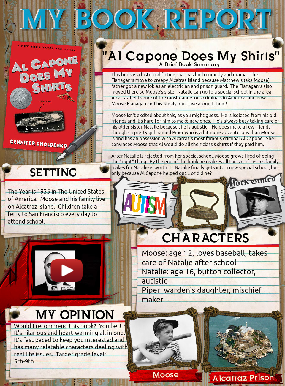 [2015] Victoria Baker: Al Capone Does My Shirts
