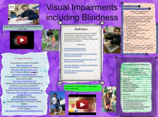 Poster Assignment-Visual Impairments - Phelecia-Zilch