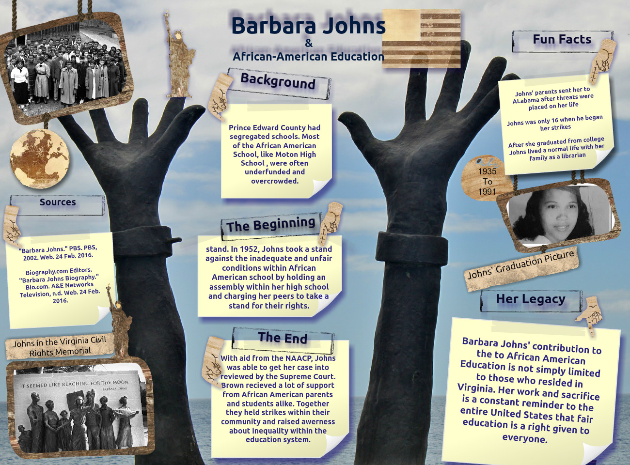 Barbara Johns and African American Education