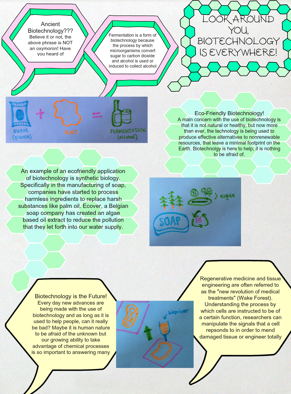 Biotechnology: text, images, music, video | Glogster EDU