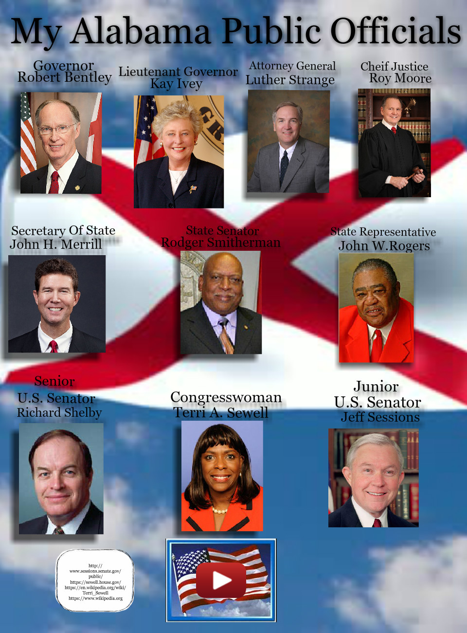 My Alabama Public Officials