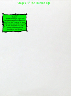 Stages Of The Human Life